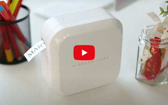 P-touch CUBE Plus (weißes Modell) PT-P710BT 11