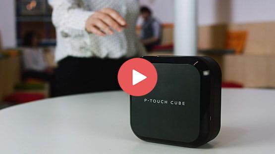 P-touch CUBE Plus (schwarzes Modell) 4
