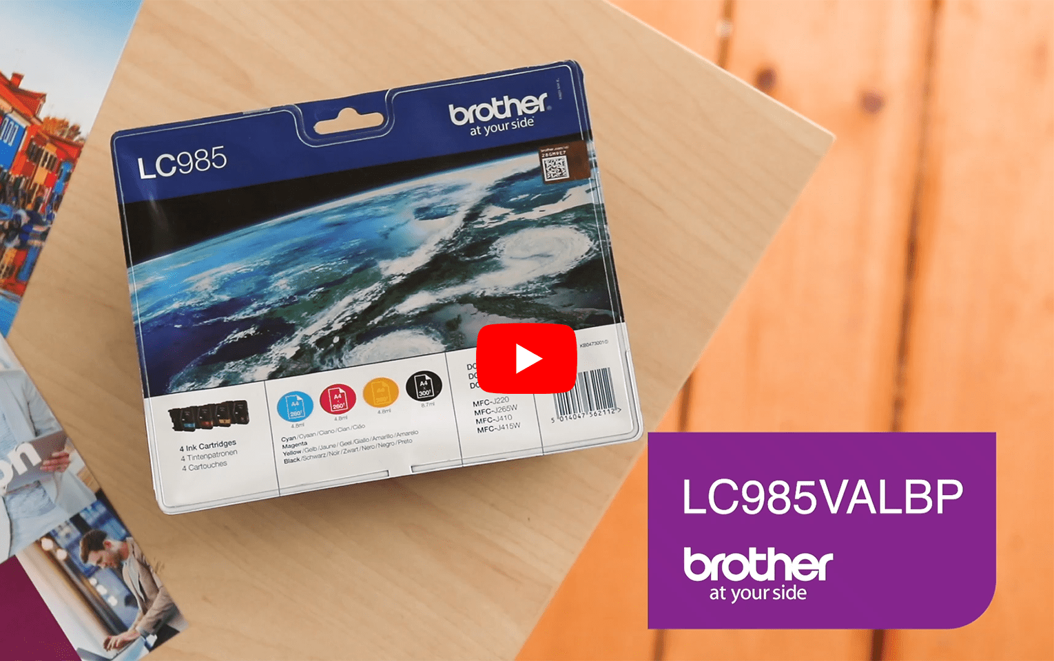 Original Brother LC-985 Value Pack 5