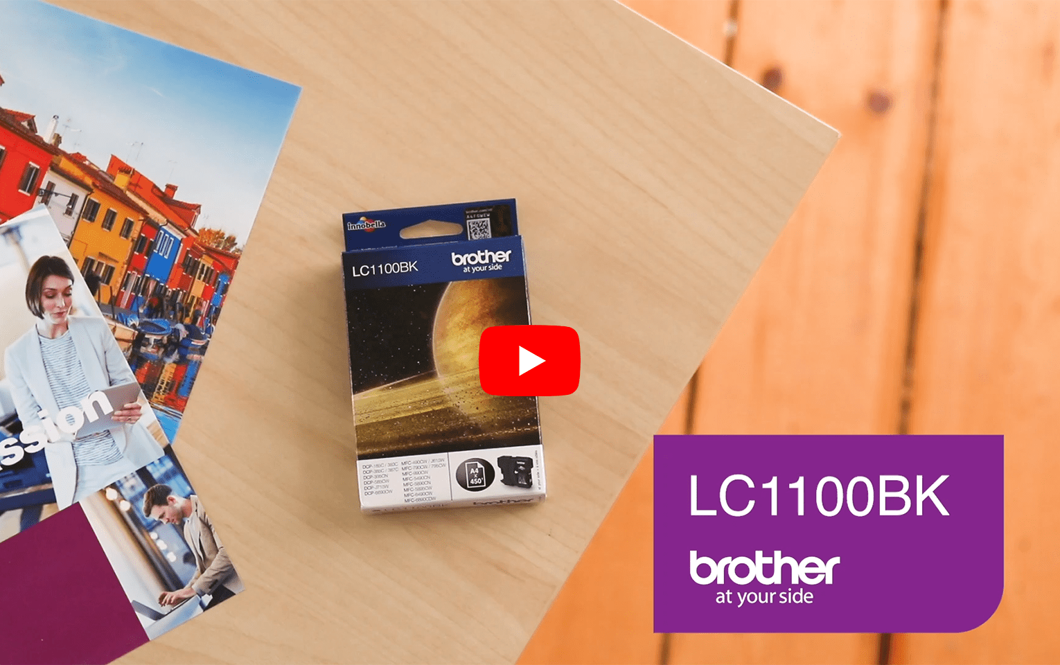 Brother LC-1100BK Tintenpatrone - Schwarz 6