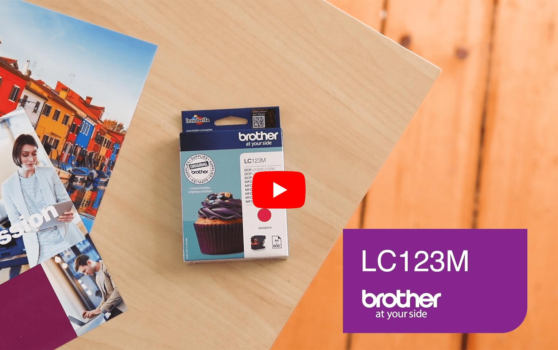 Brother LC-123M Tintenpatrone – Magenta 5