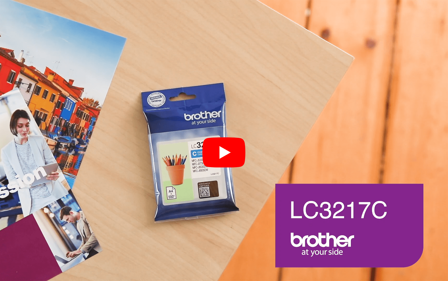 Brother LC-3217C Tintenpatrone – Cyan 5