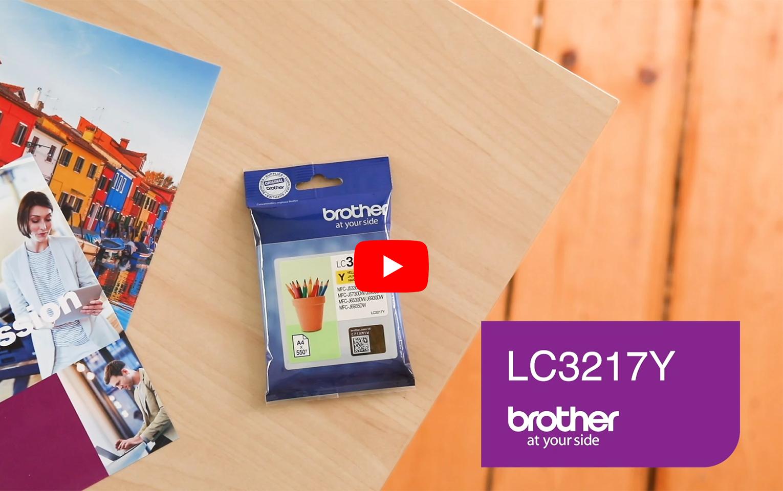 Brother LC-3217Y Tintenpatrone – Gelb 5