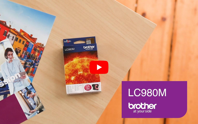 Brother LC-980M Tintenpatrone – Magenta 5
