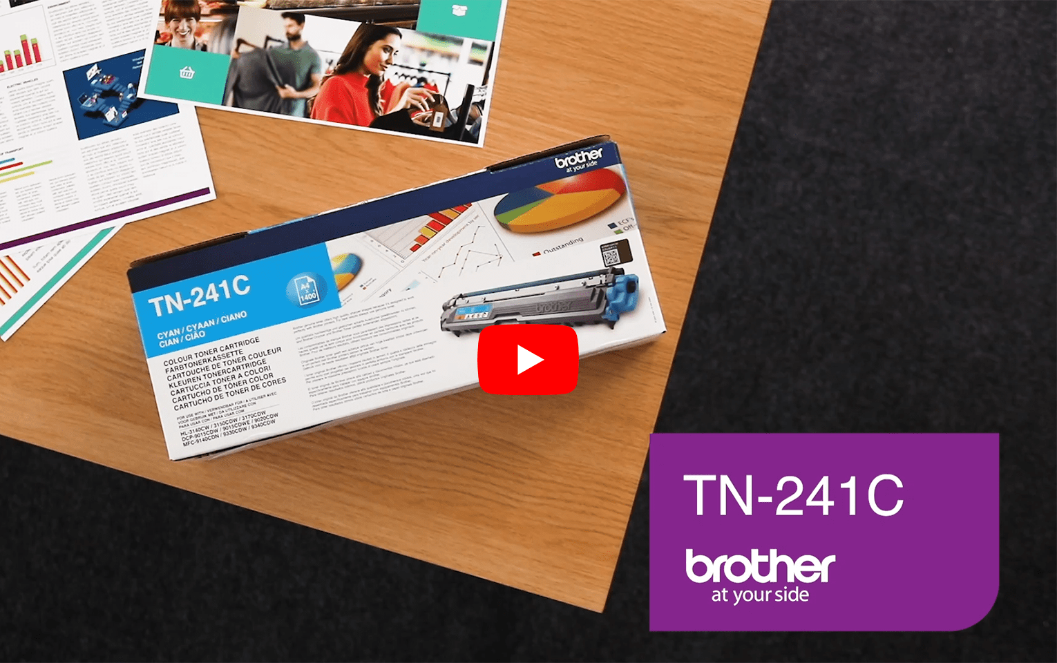 Brother TN-241C Tonerkartusche – Cyan 6