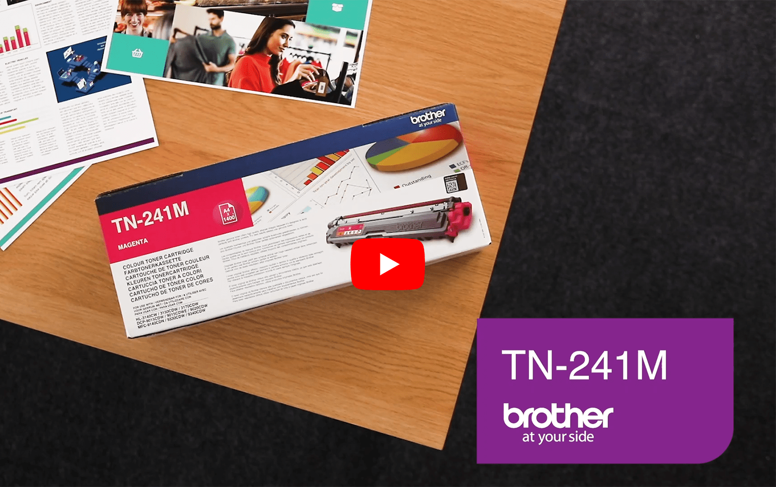 Brother TN-241M Tonerkartusche – Magenta 6