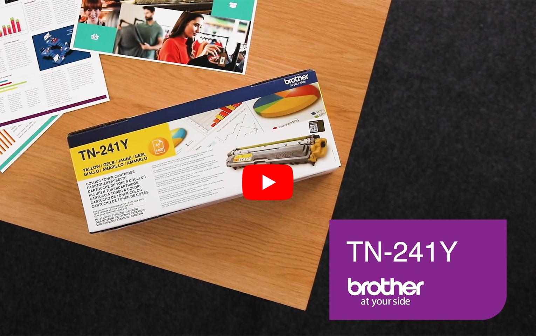 Brother TN-241Y Tonerkartusche – Gelb 6