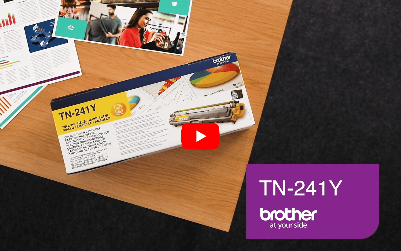 Brother TN-241Y Tonerkartusche – Gelb 5