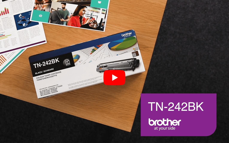 Brother TN-242BK Tonerkartusche – Schwarz 6