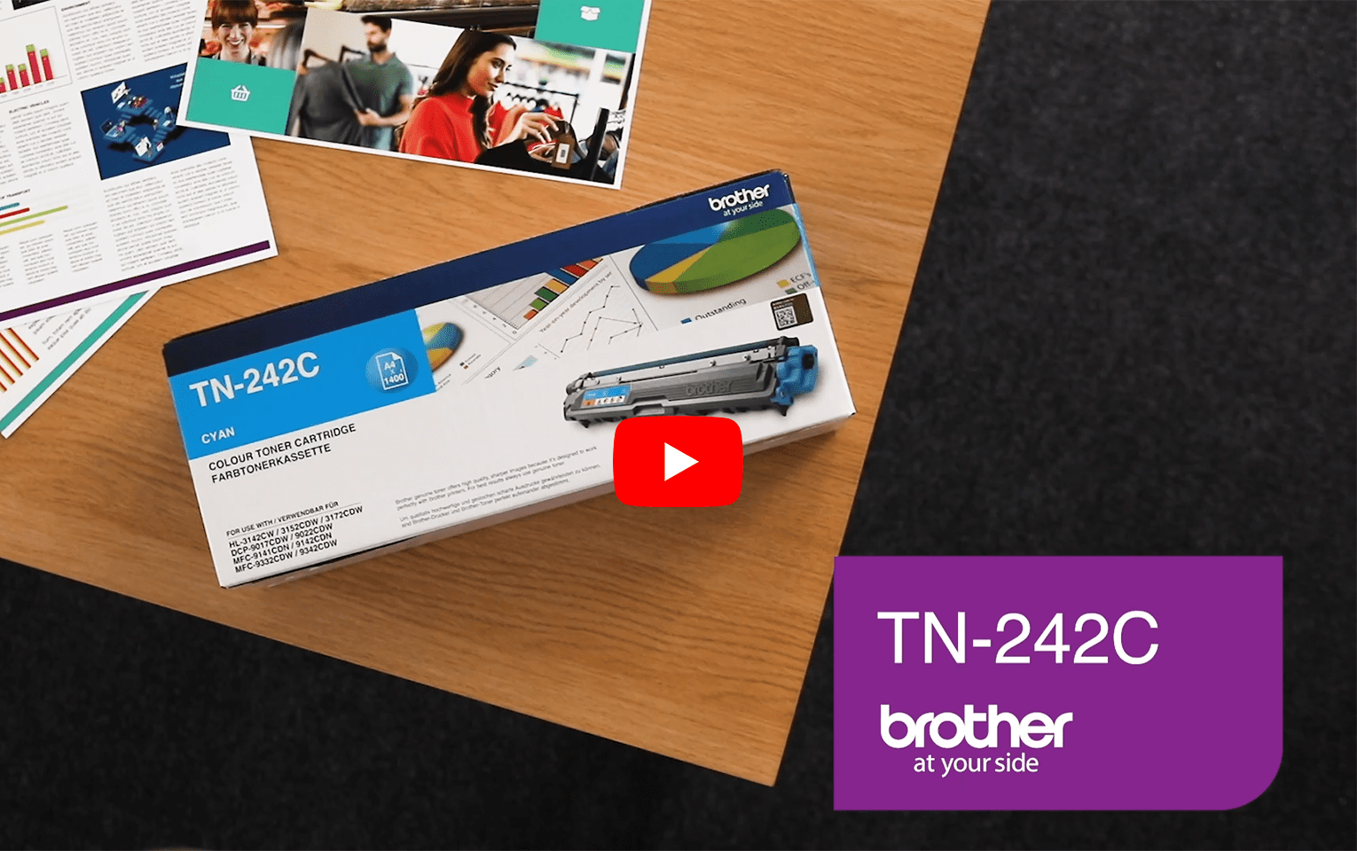 Brother TN-242C Tonerkartusche – Cyan 6