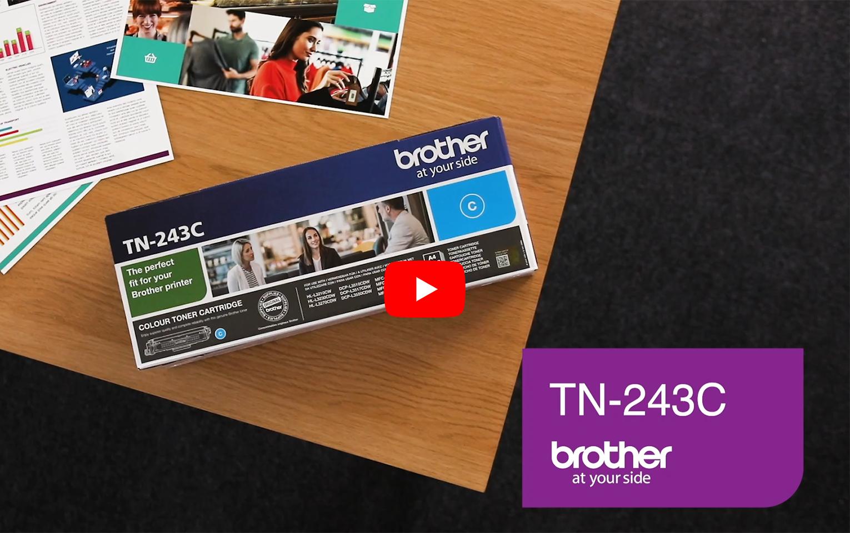 Brother TN-243C Tonerkartusche – Cyan 6