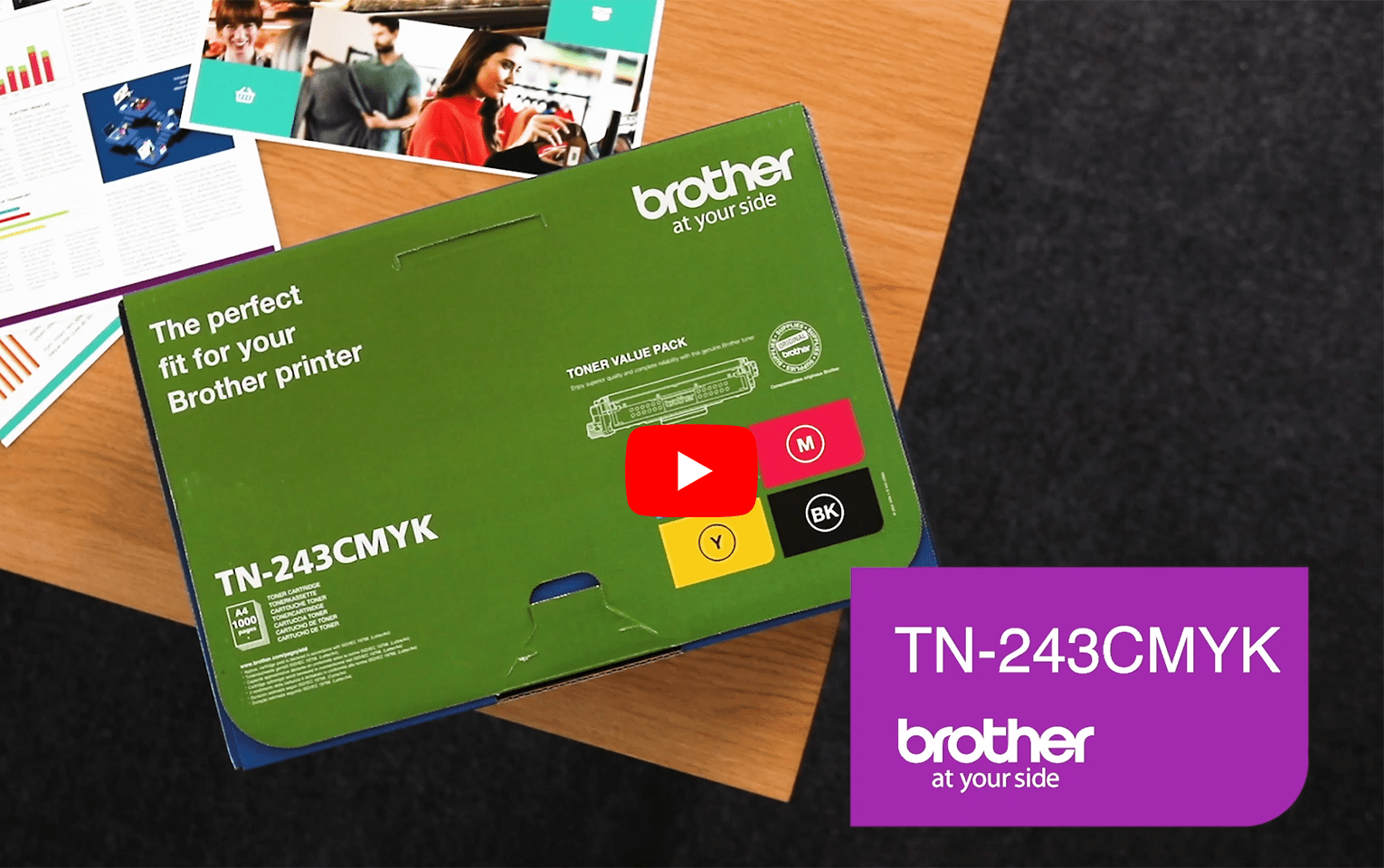 Brother TN-243CMYK Value Pack 6