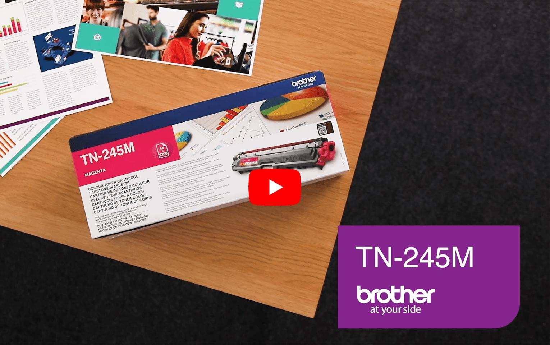 Brother TN-245M Tonerkartusche – Magenta 6