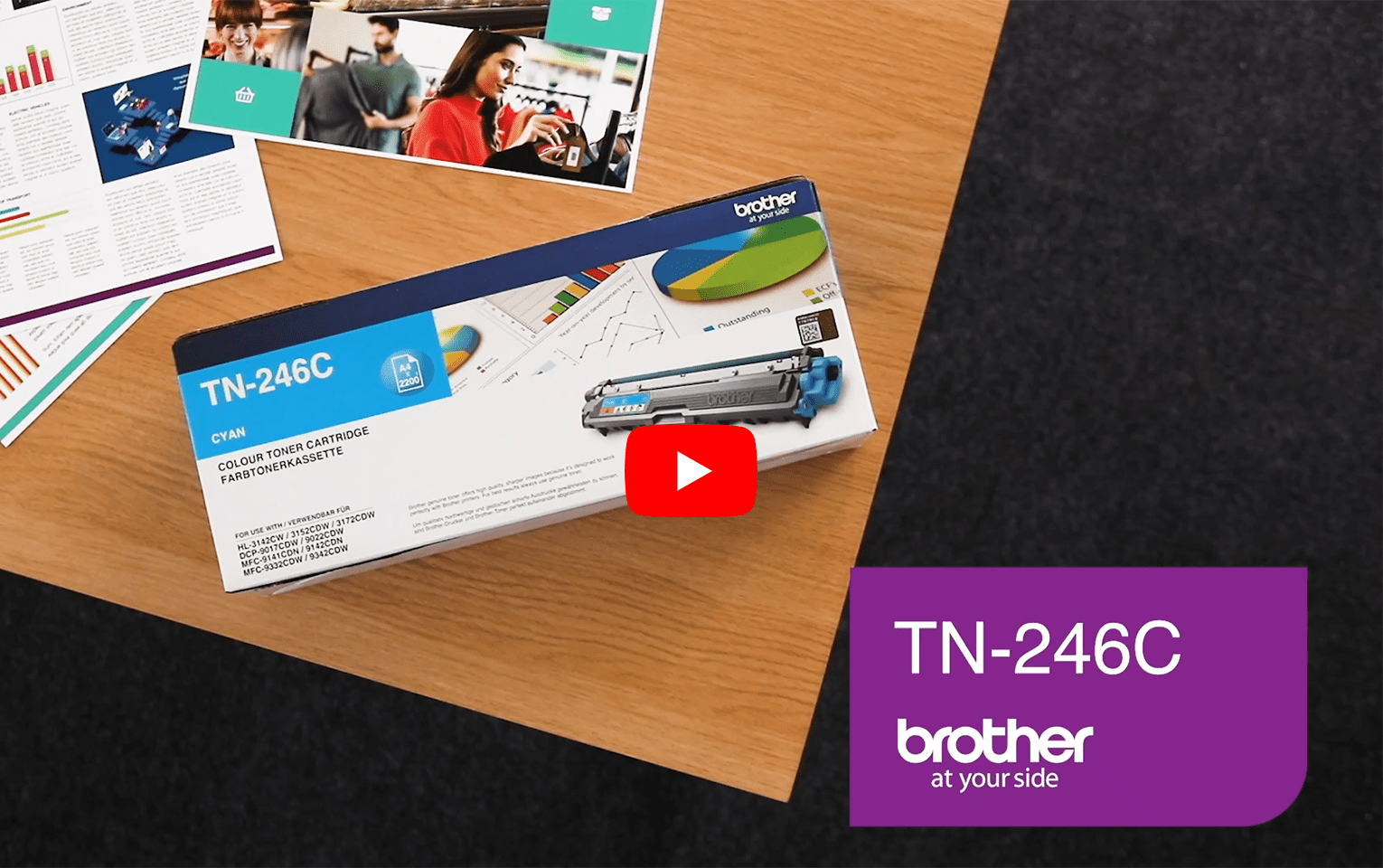 Brother TN-246C Tonerkartusche – Cyan 5