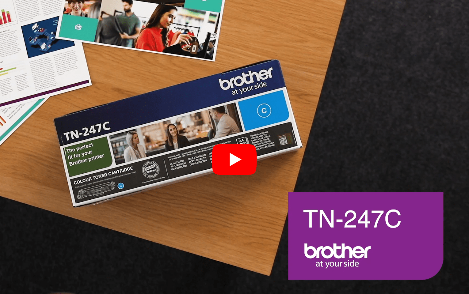 Brother TN-247C Tonerkartusche – Cyan 5