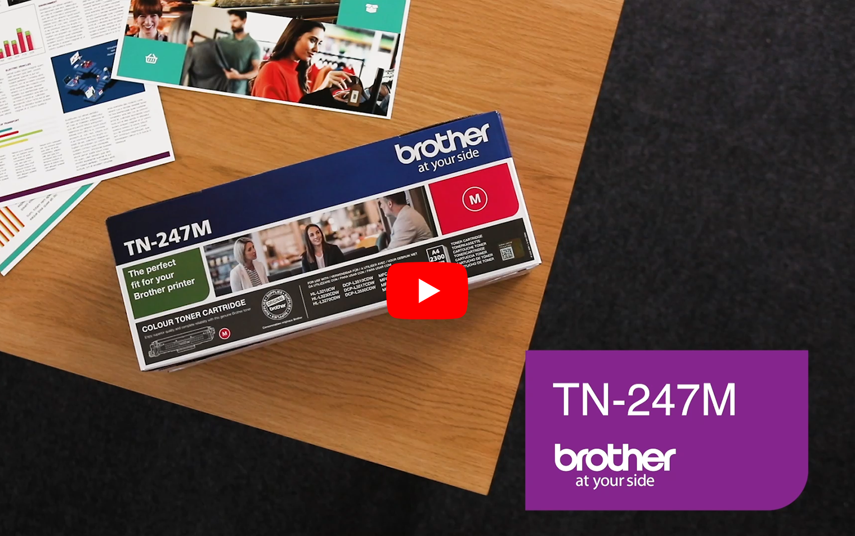 Brother TN-247M Tonerkartusche – Magenta 5